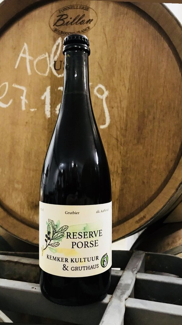 Reserve Porse 2018 - Historic barrel-aged Gruit 75cl